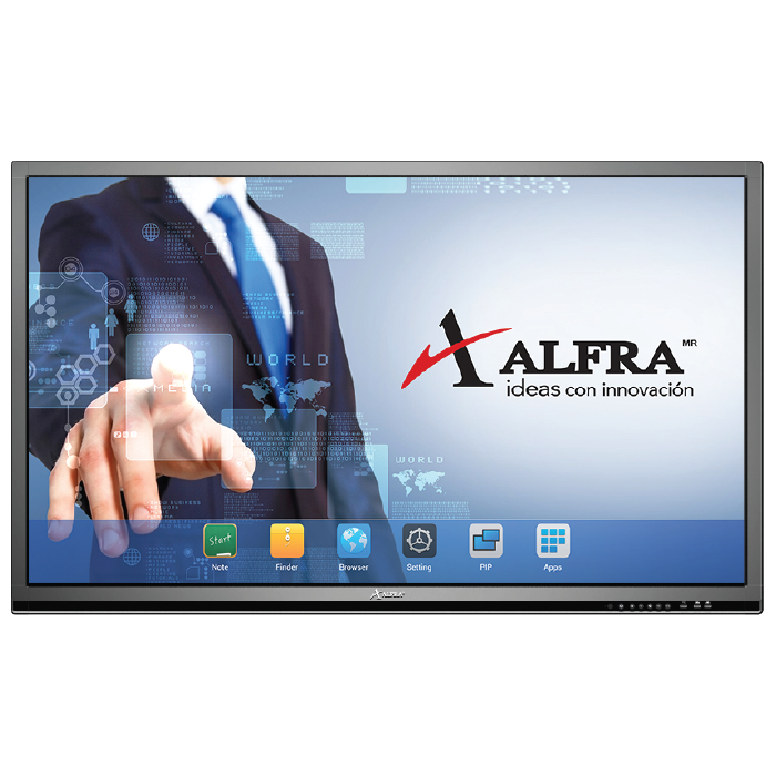 PANTALLA INTELIGENTE MULTITOUCH ALFRA® ALL IN ONE